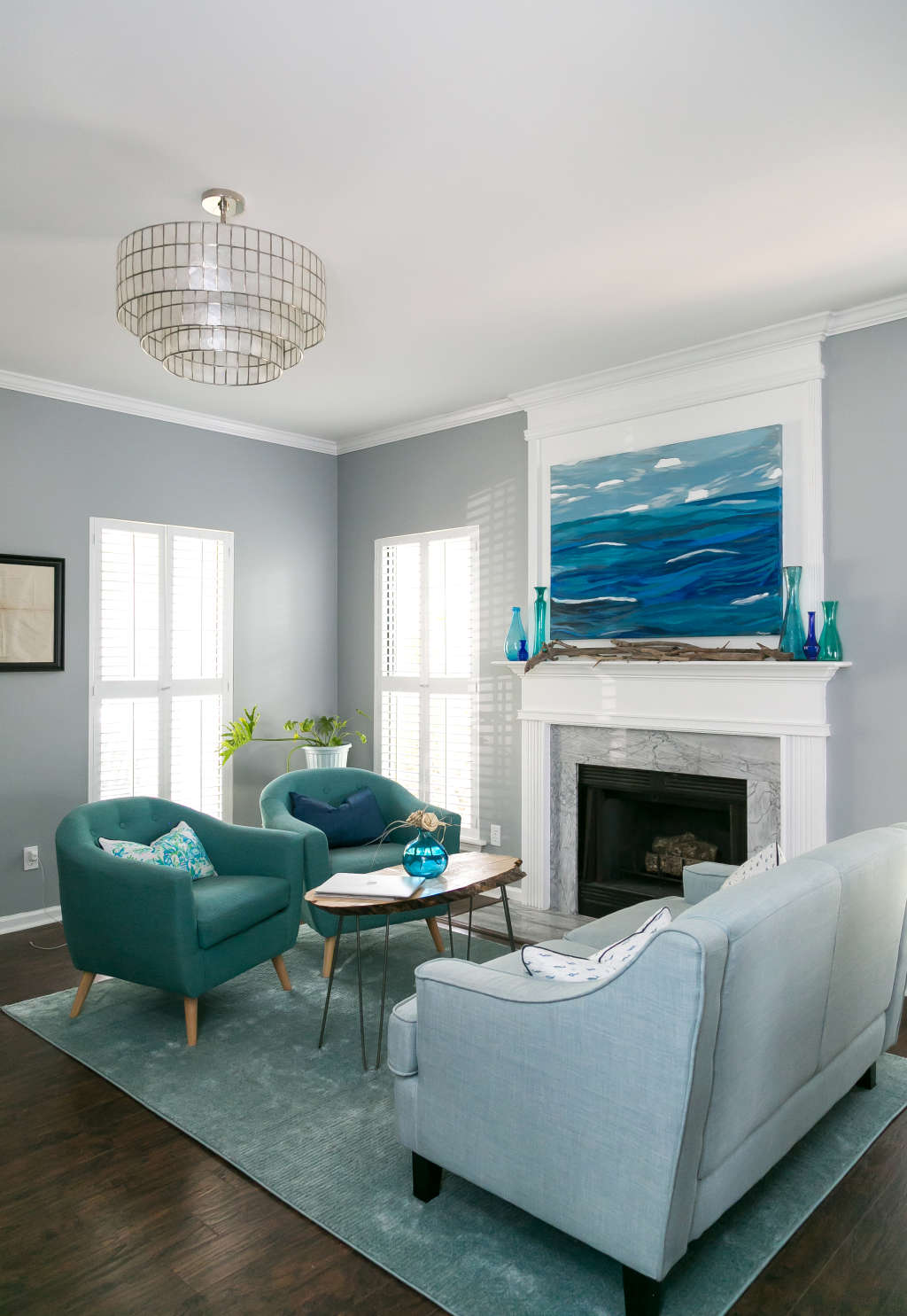 A Serene, Coastal-Style Home in Charleston