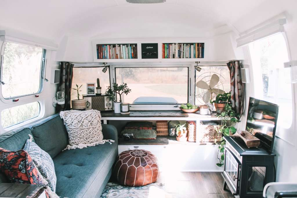 8 Tiny Houses with Pattern-Packed, Maximalist Interiors