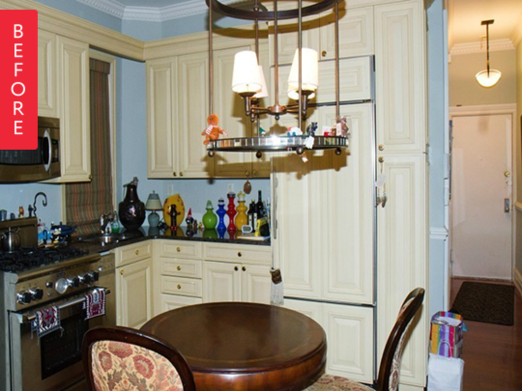 Before & After: Small Changes Make a Big Difference in a Little Kitchen
