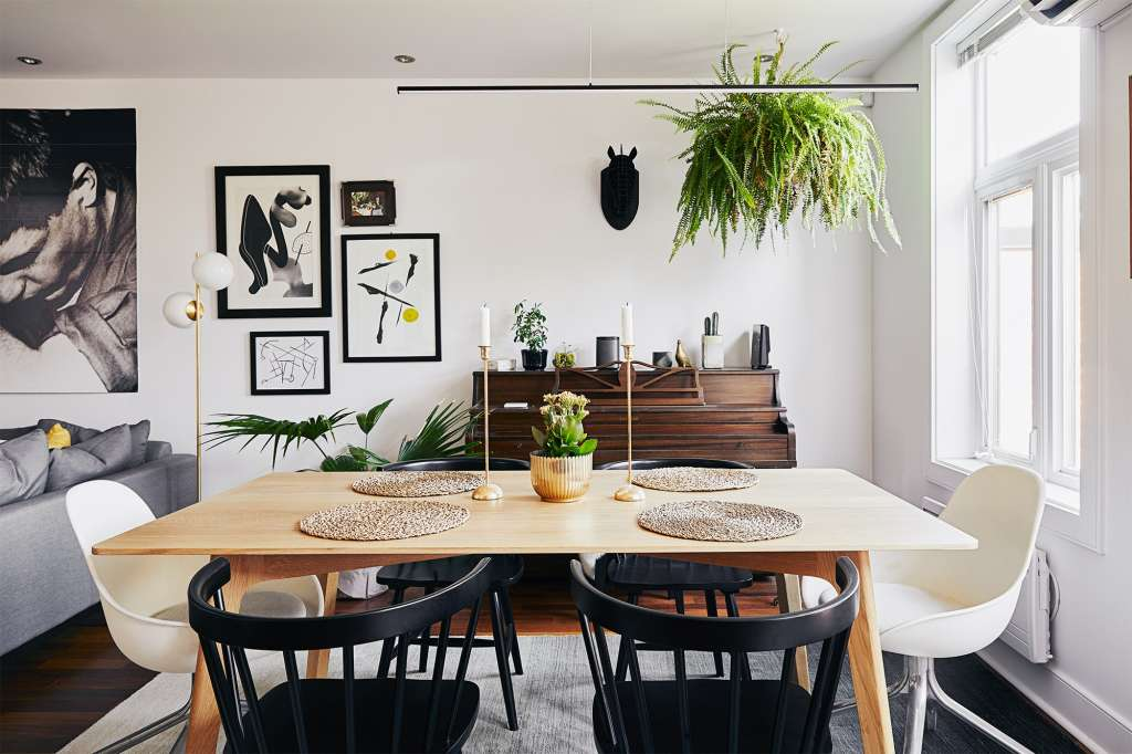 A Sleek and Small Minimal Modern Montreal Apartment