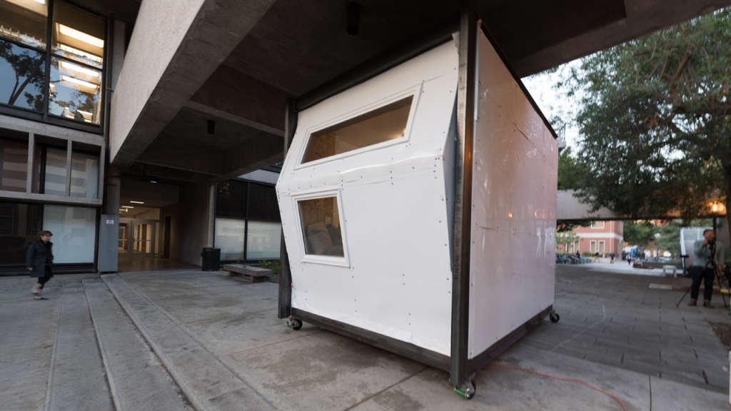 Students Design a Temporary Shelter to Combat LA's Homelessness