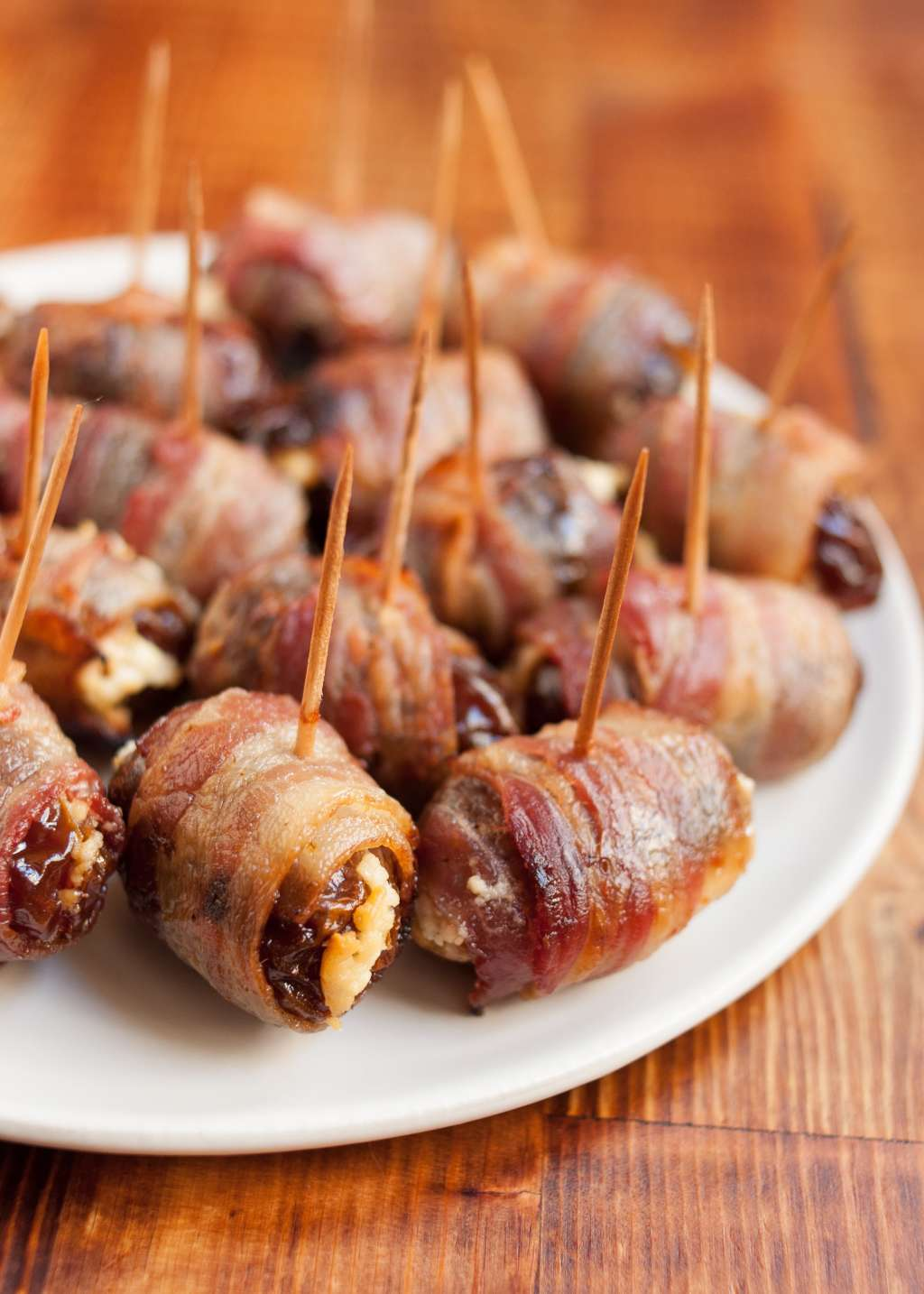 Bacon wrapped dates in Sydney