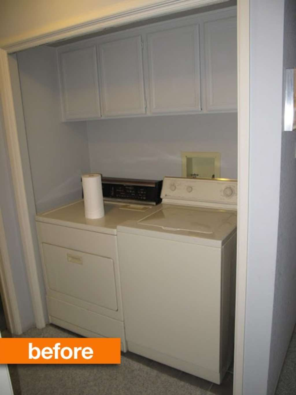 Before & After: Laundry Nook Refresh