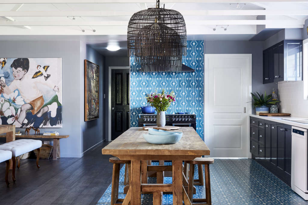 Why It Works: Killer Combo Kitchen-Dining Room in Australia