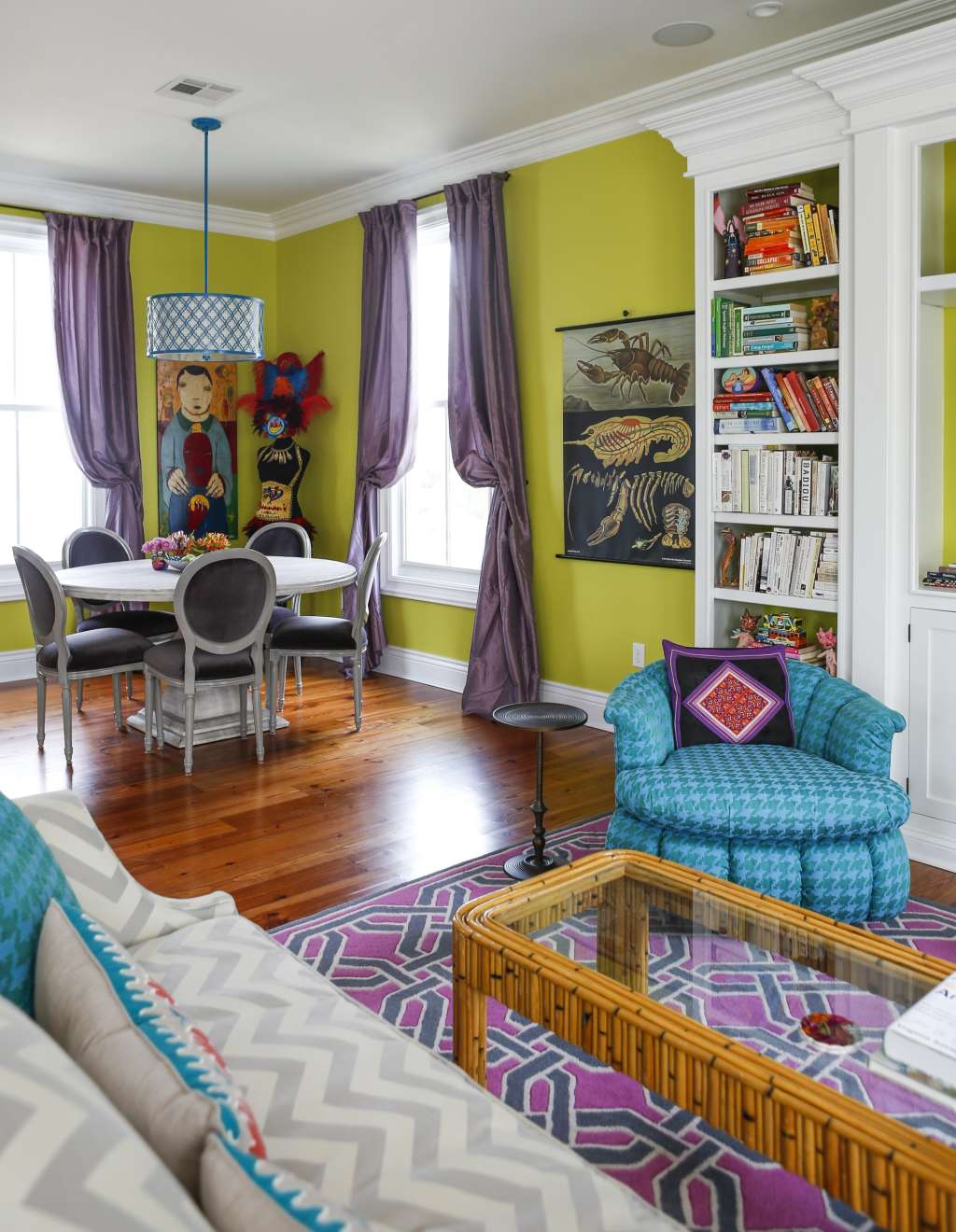 A Colorful Uptown New Orleans House