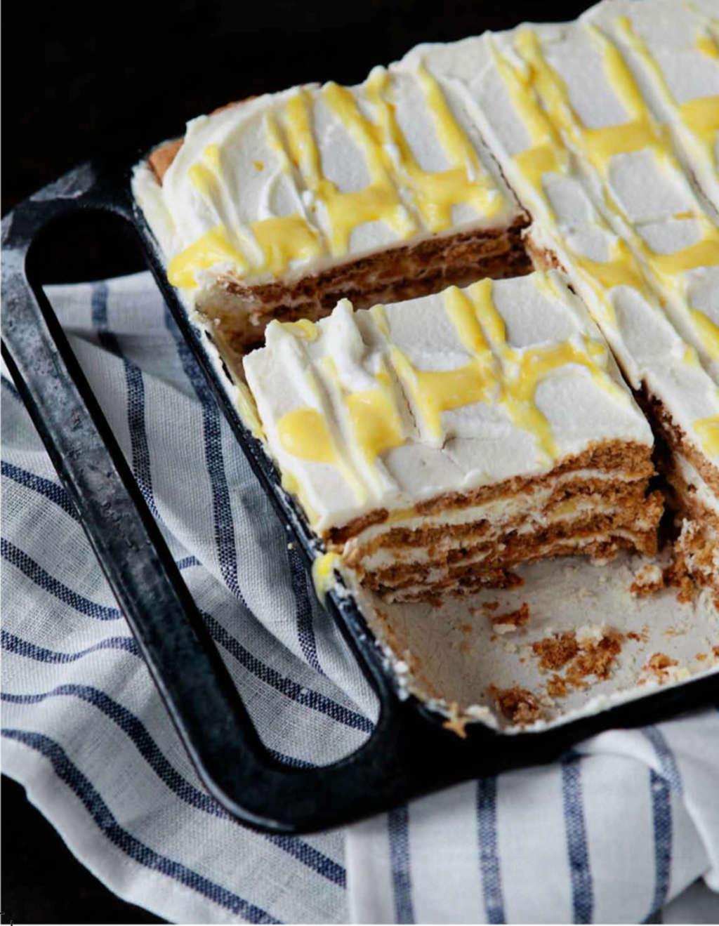 No-Bake Dessert Recipe: Lemon Cream Icebox Cake