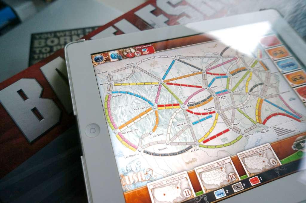 Take 5: Board Games to Play on the iPad