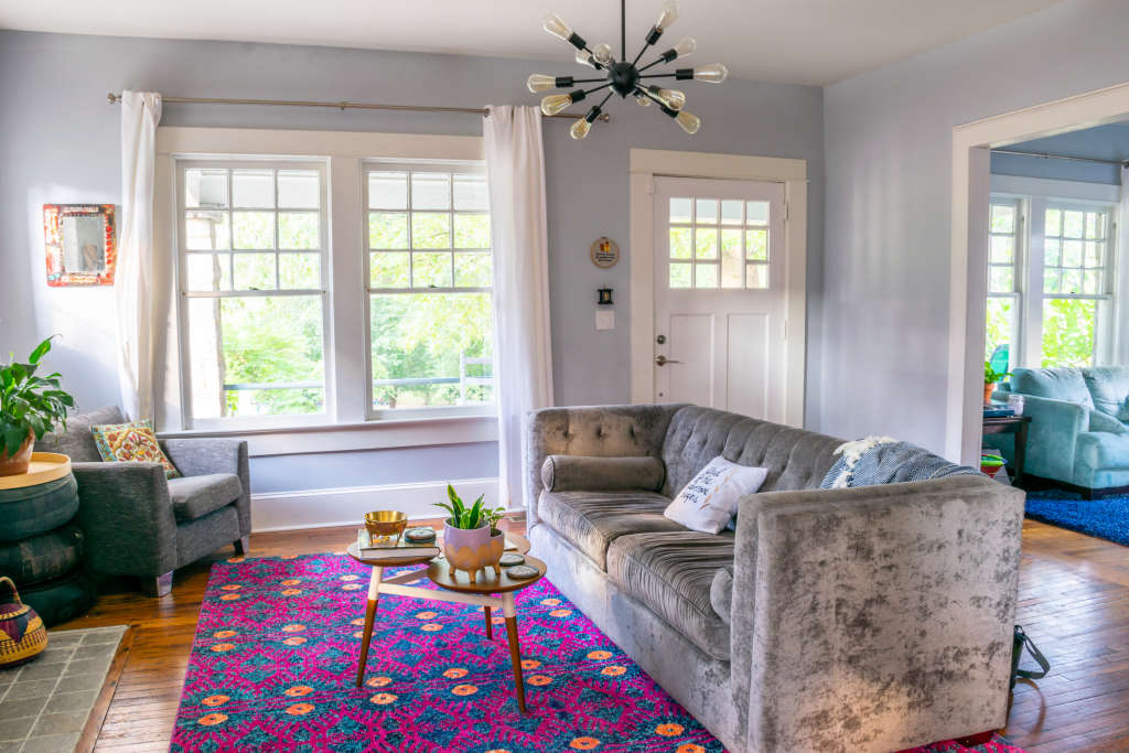 This Entire Home Was Furnished for Under $4,000