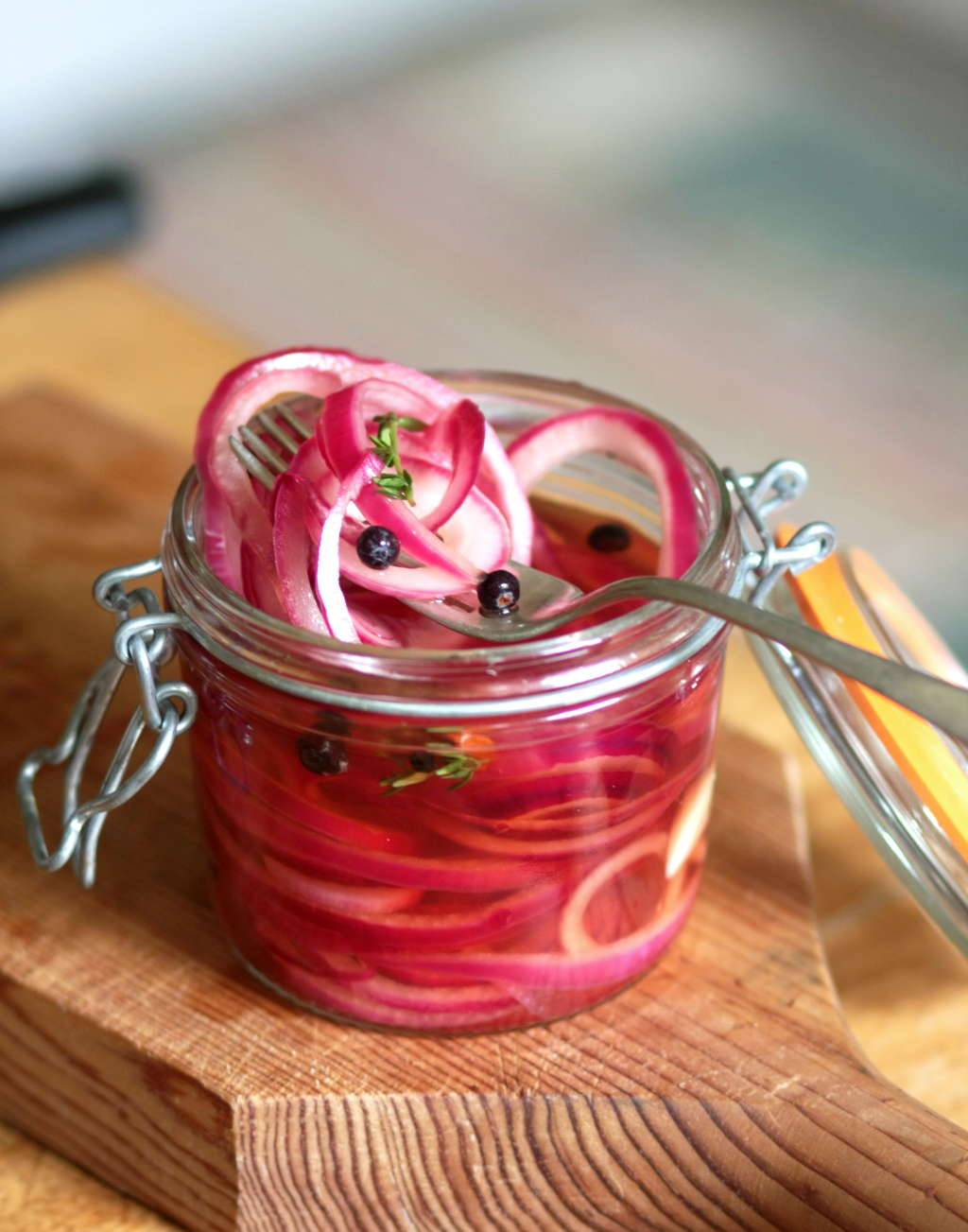 How To Make Quick-Pickled Red Onions: The Video