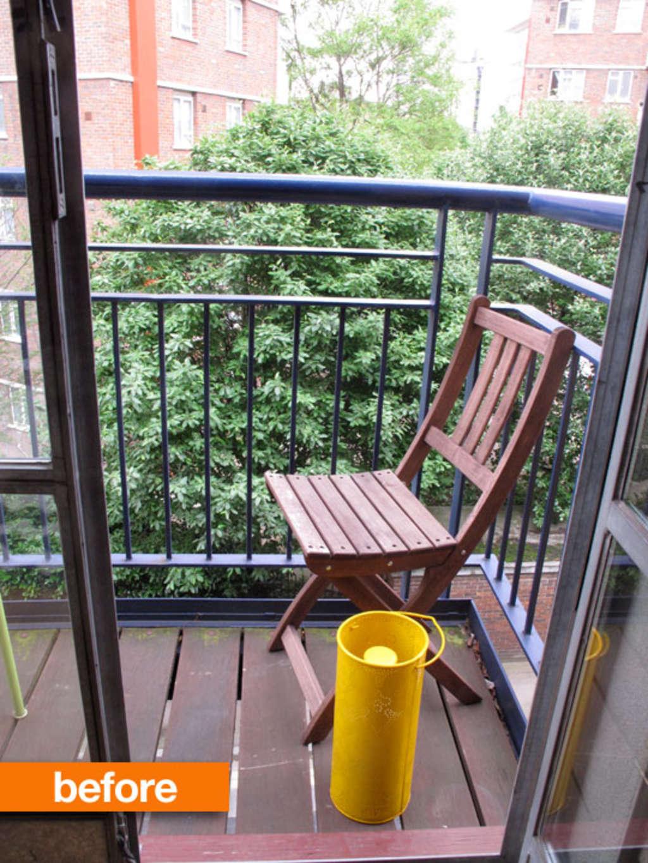 Before & After: My Teeny Tiny English Balcony Upgrade