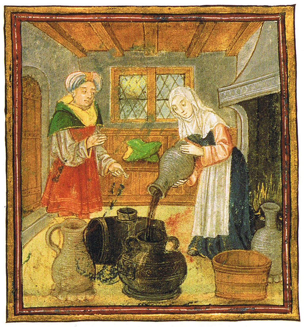 Vintage Advice: 14th Century Homemaking from a Medieval Home Companion