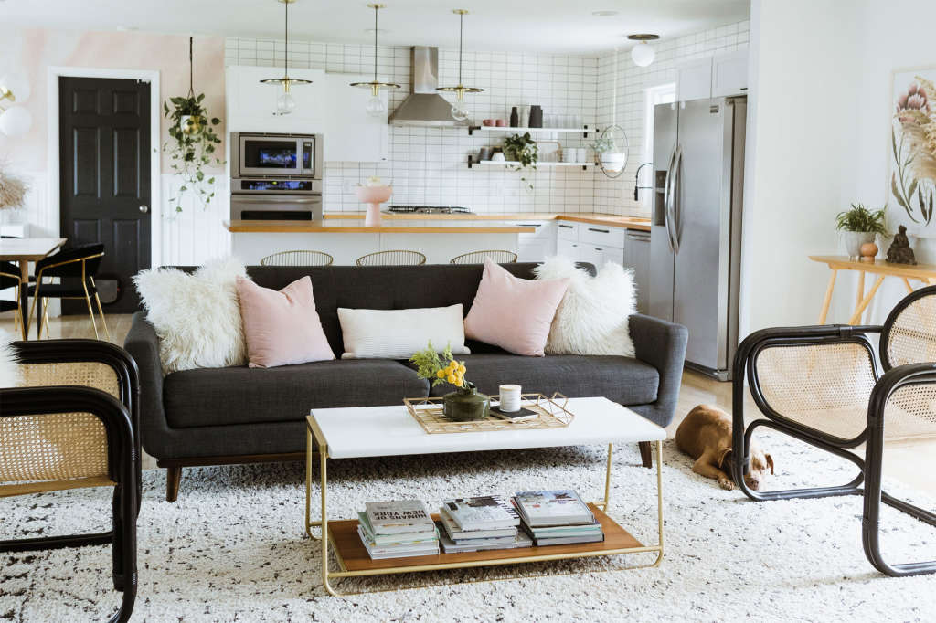 A Neglected Ranch-Style House Is Now Deco-Inspired Boho Luxe