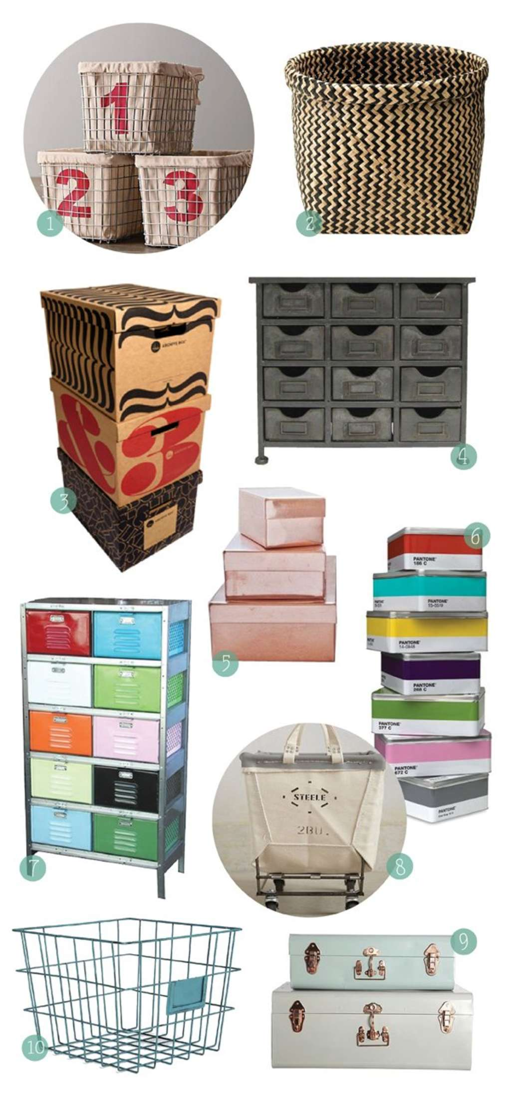 10 Alternatives to Plastic Storage Bins