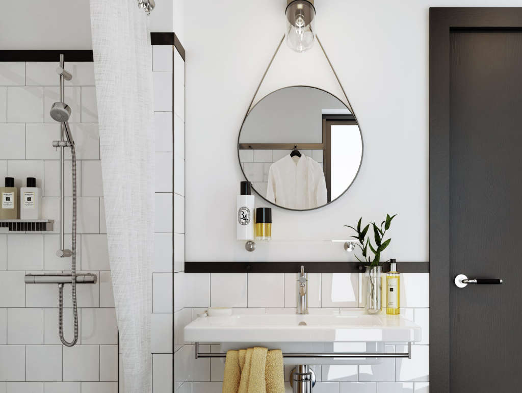 Round Bathroom Mirror Inspirations & Shopping Picks | Apartment Therapy