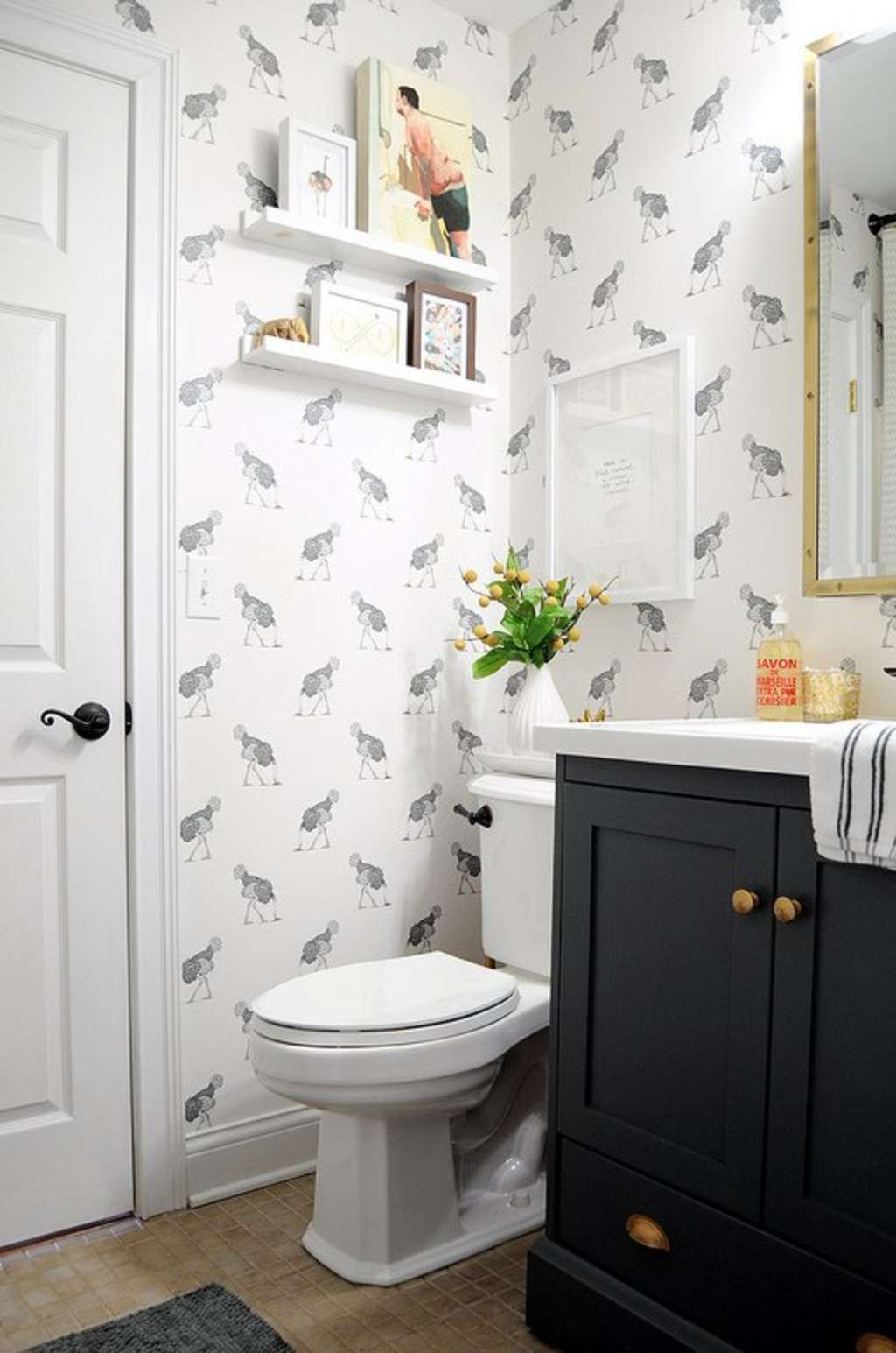 10 of our Best Bathroom Makeover Project Posts