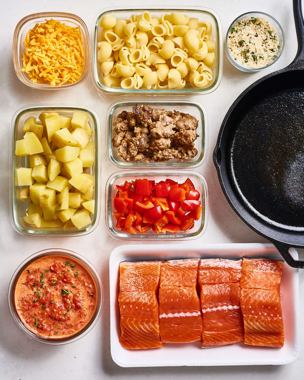 How I Prep a Week of Easy Skillet Dinners in Under 2 Hours