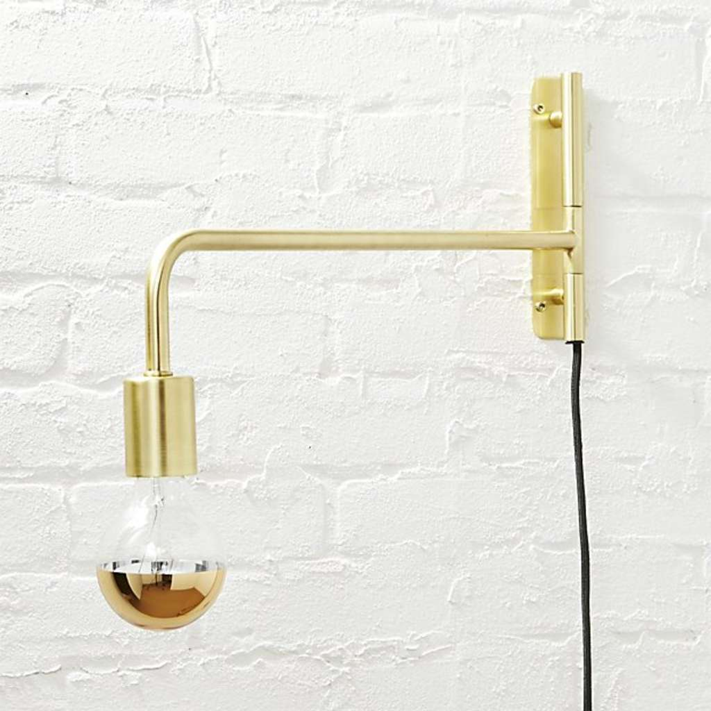 The Best Swing Arm Wall Sconces Under 200 Apartment Therapy Hard Wiring