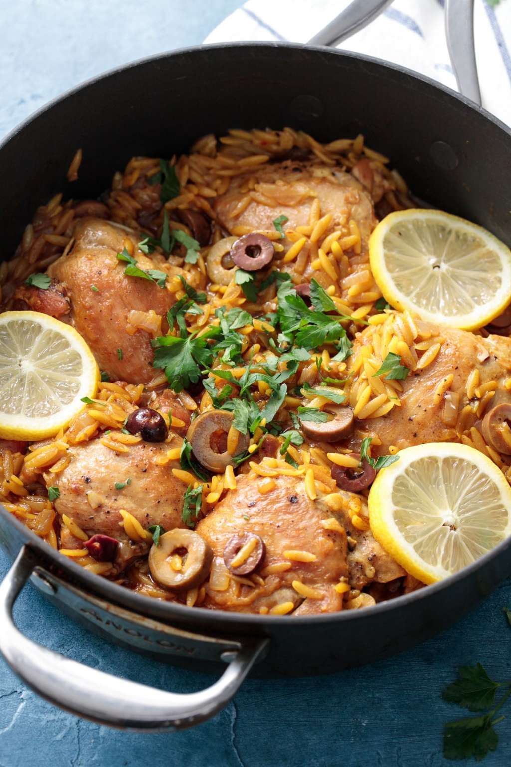 This One-Pan Lemon Chicken & Orzo Is a Weeknight Win