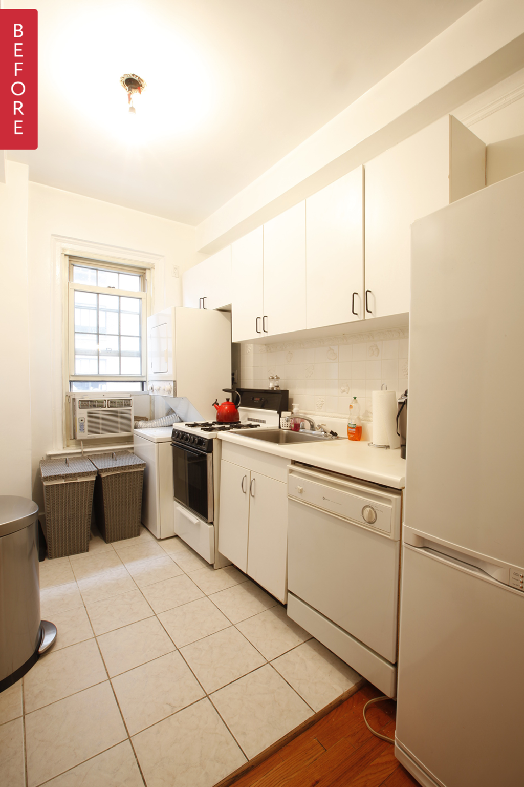 Before & After: A Stylish Update for a Drab West Village Kitchen