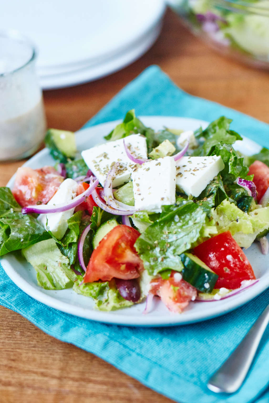 Master Diner-Style Greek Salad with This Recipe