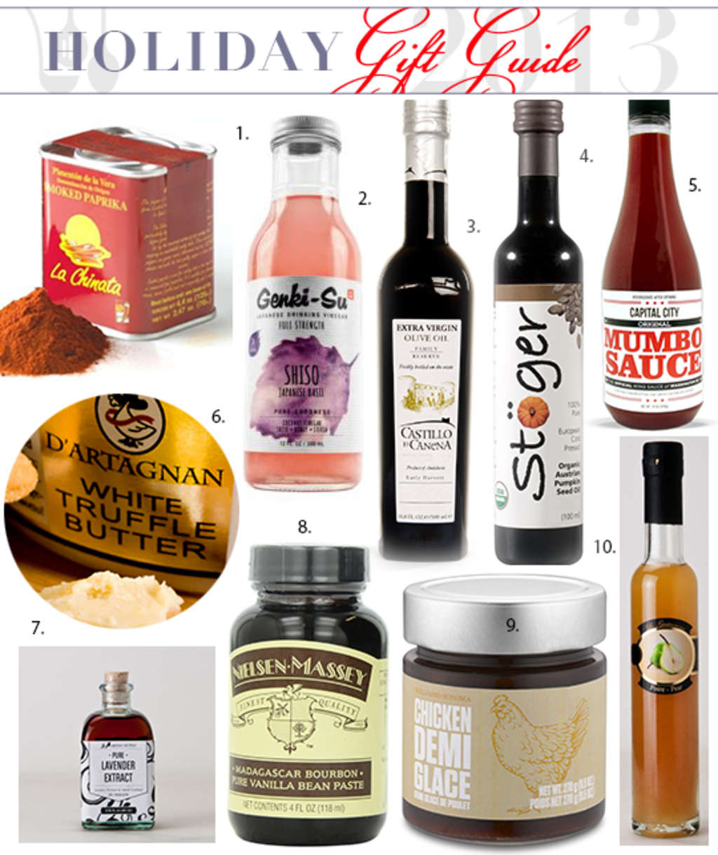 10 Ingredients That Make Great Gifts