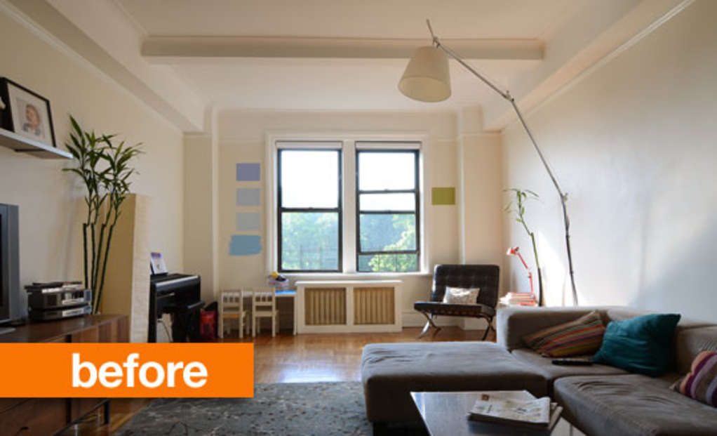 """Before & After: Sarah and Sam's """"Modern Family"""" Room"""
