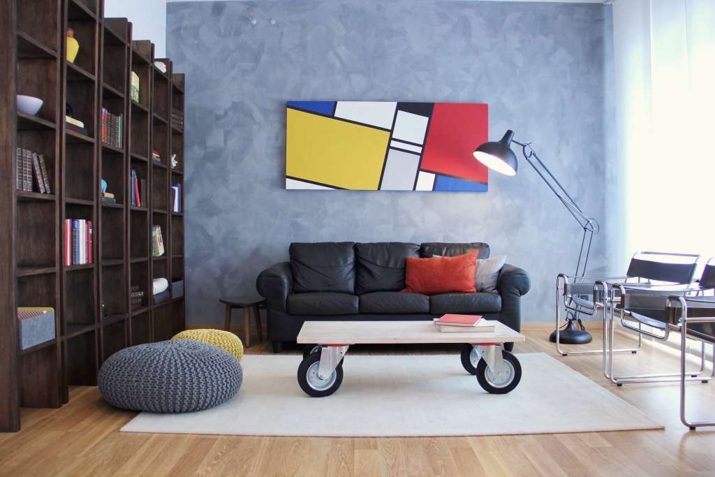 House Tour: A Colorfully Modern Whimsical Home in Rome