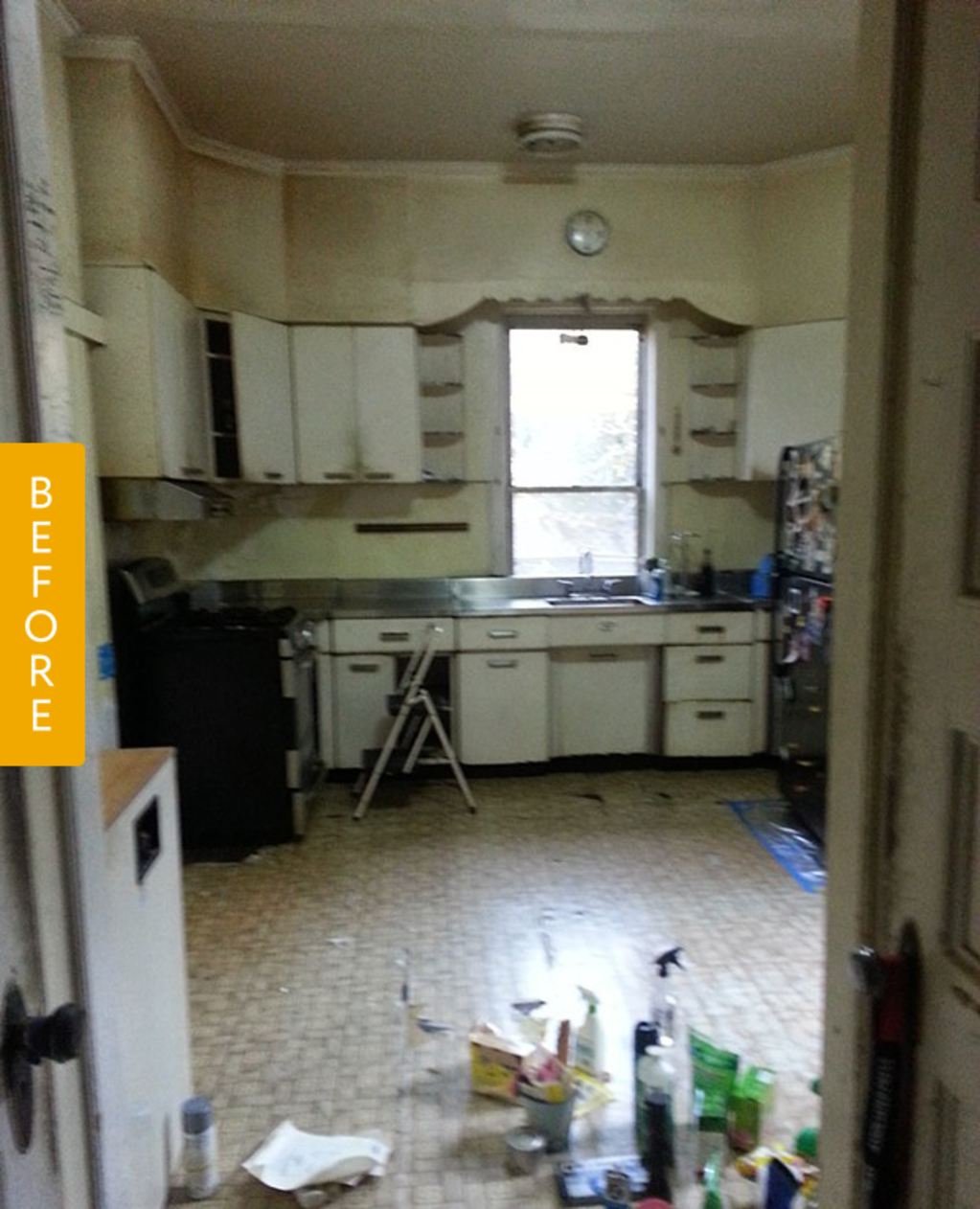 Before & After: A Budget Kitchen Remodel With Vintage