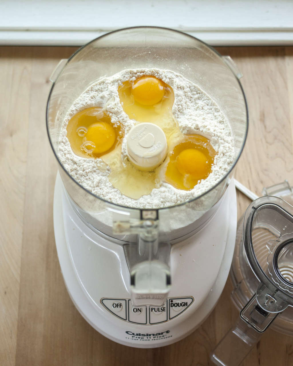 How To Make Fresh Pasta Dough in the Food Processor