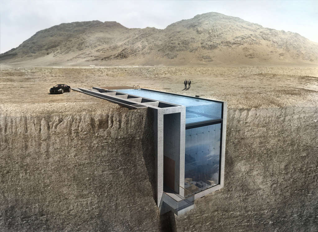 This Viral Cliffside House Is Becoming a Reality
