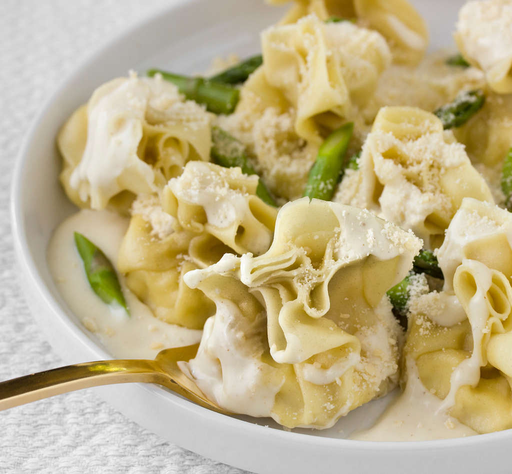 Italian Recipe: Fiocchetti with Pears and Parmesan Cream