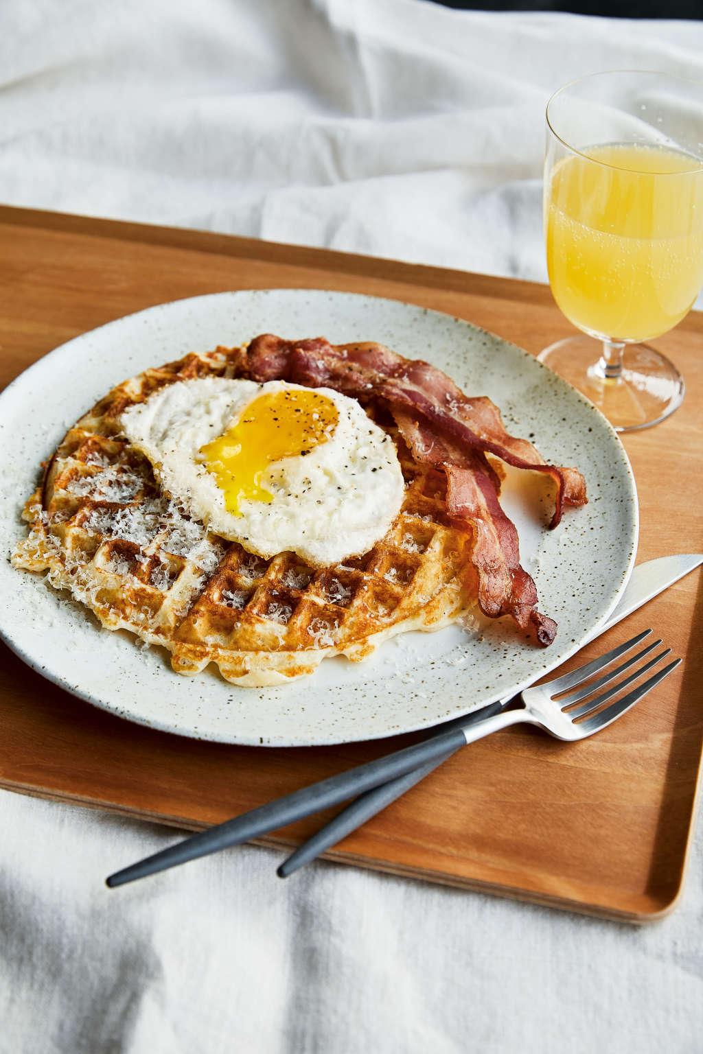 The Surprising Ingredient Chrissy Teigen Adds to Her Waffles