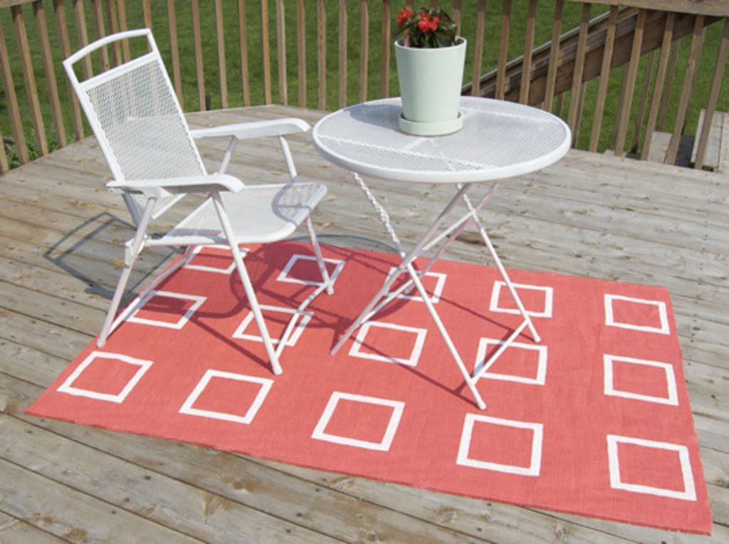 Easy Diy Outdoor Rug Apartment Therapy