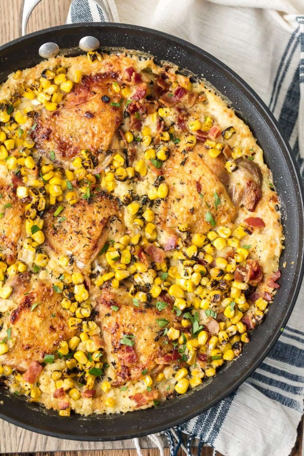Make This Creamy Chicken & Couscous Skillet Meal ASAP