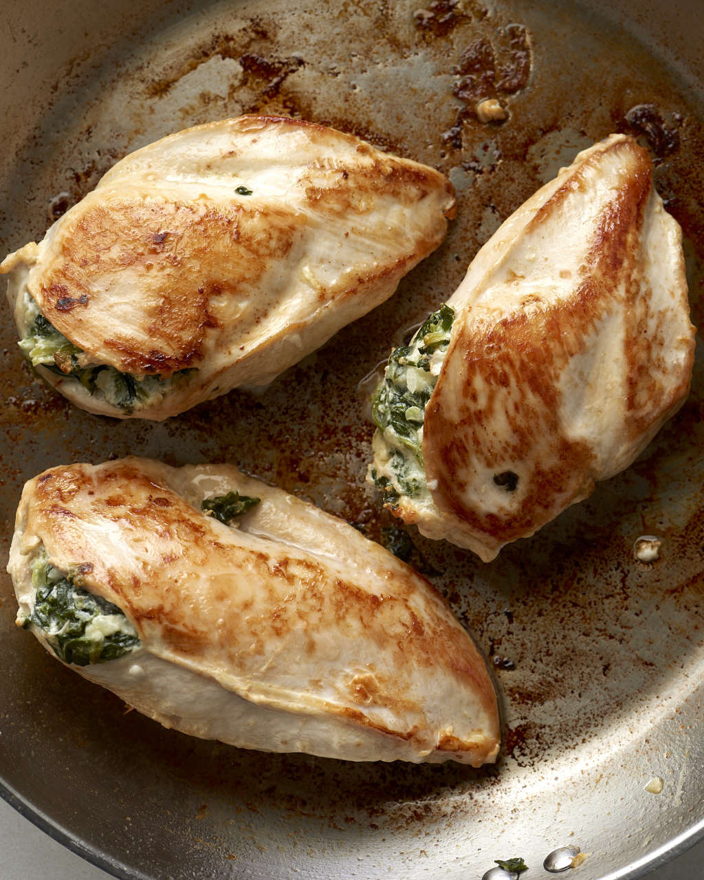 How To Split a Chicken Breast & Stuff It with Tasty Things
