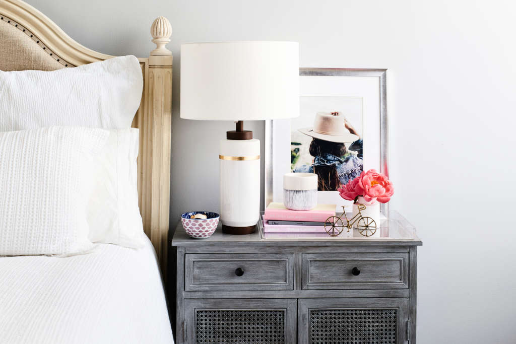 Here's How to Style the Nightstand of Your Dreams
