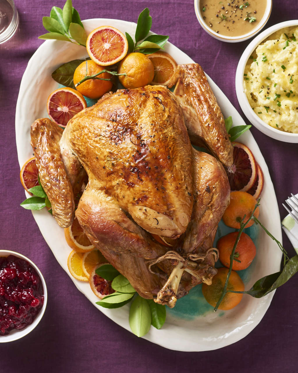 Turkey Temperature How To Check When Is Done Kitchn Parts Of A Chicken Diagram Meat Bone