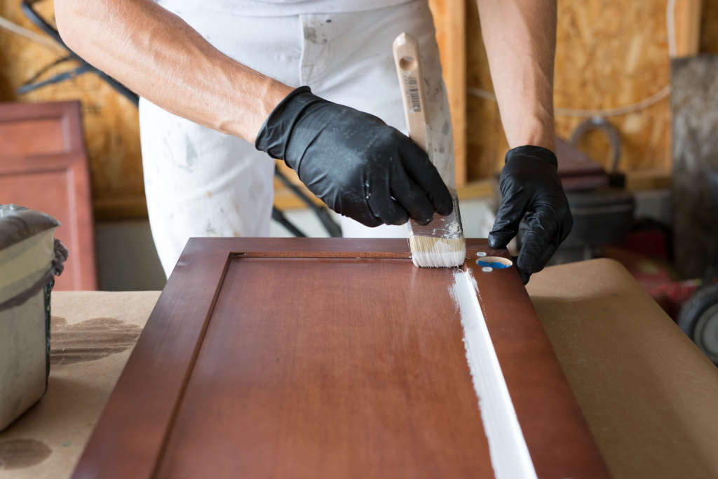 One Step You Can Skip When Painting Kitchen Cabinets