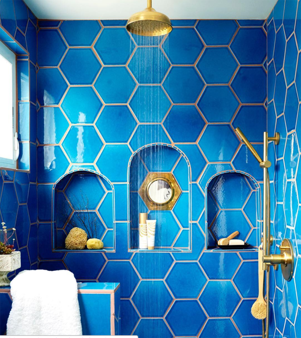Unusual Tile & Colored Grout Combos That Are Gorgeous | Apartment ...
