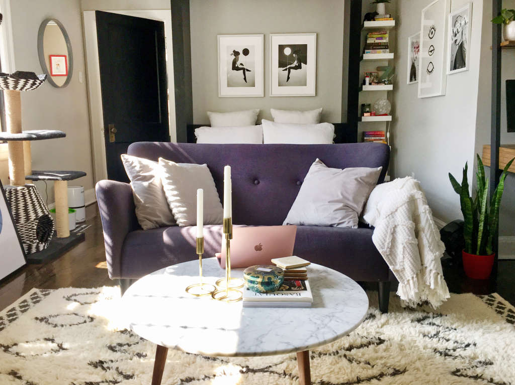This Student's 350-Square-Foot Studio Is Stylishly Inspiring