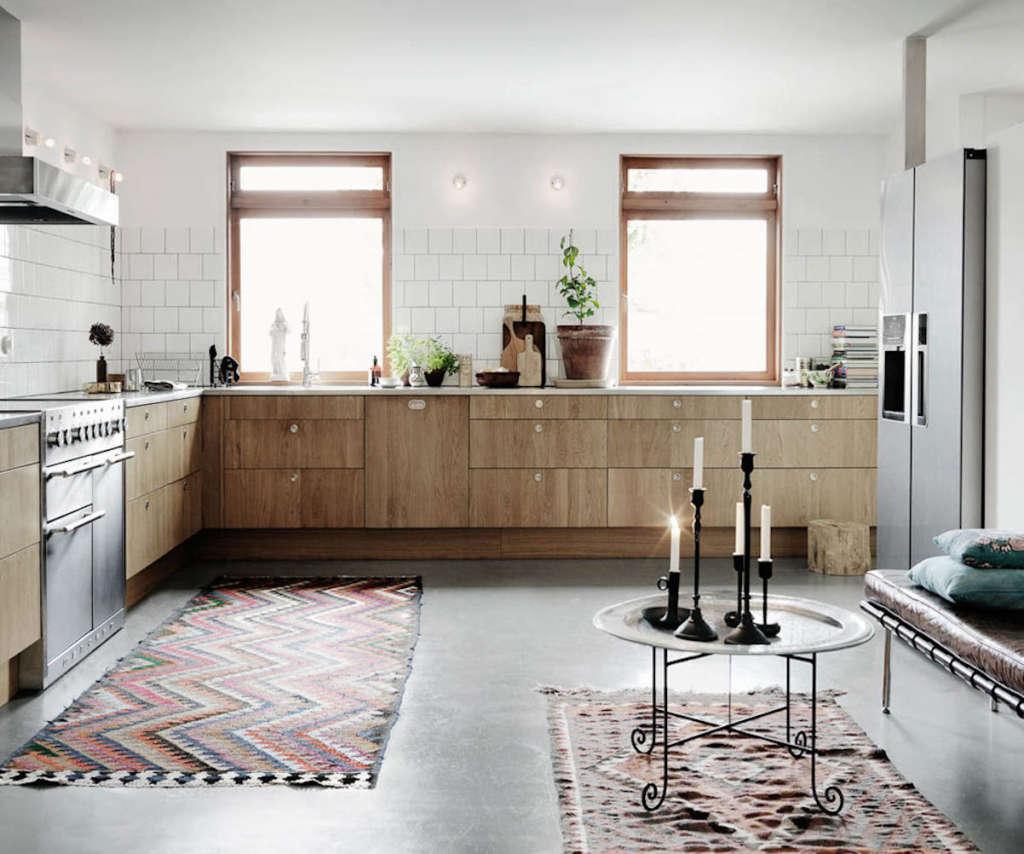 10 Modern Kitchens Rocking Natural Wood Cabinets