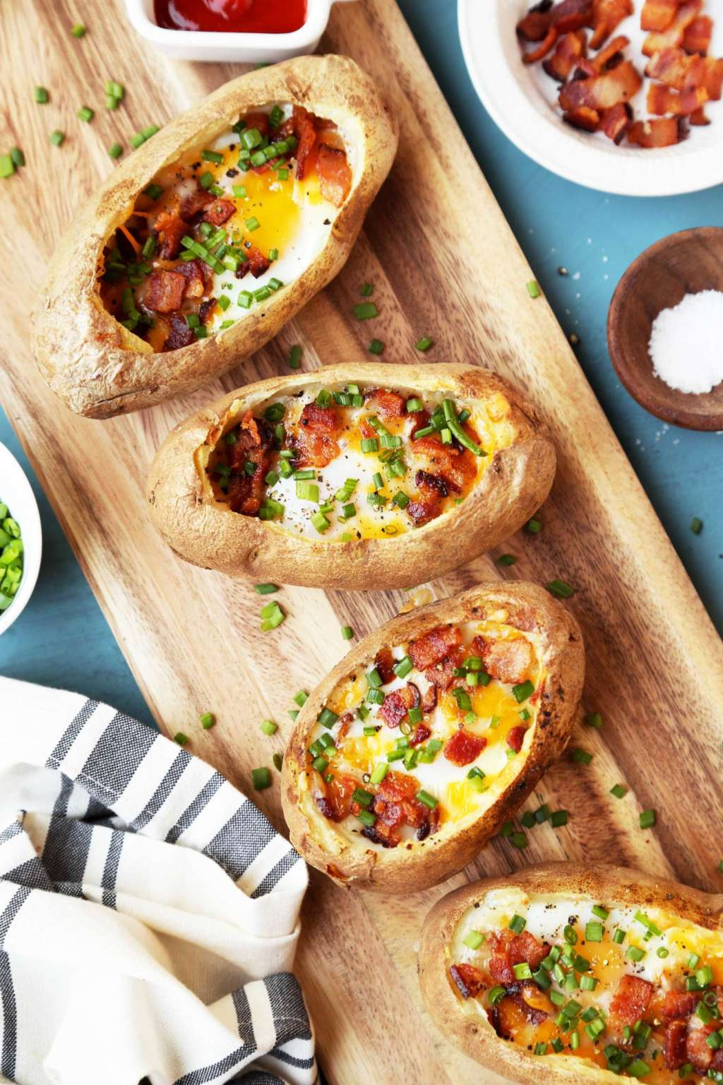 These Breakfast Baked Potatoes Are Calling Your Name