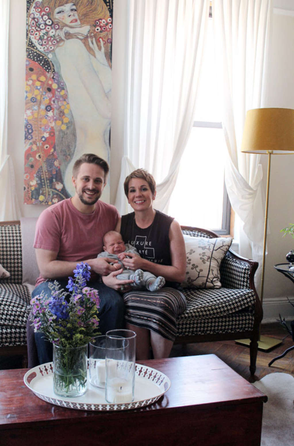 Aimee, Rene and Max's Sweet and Sophisticated Family Home