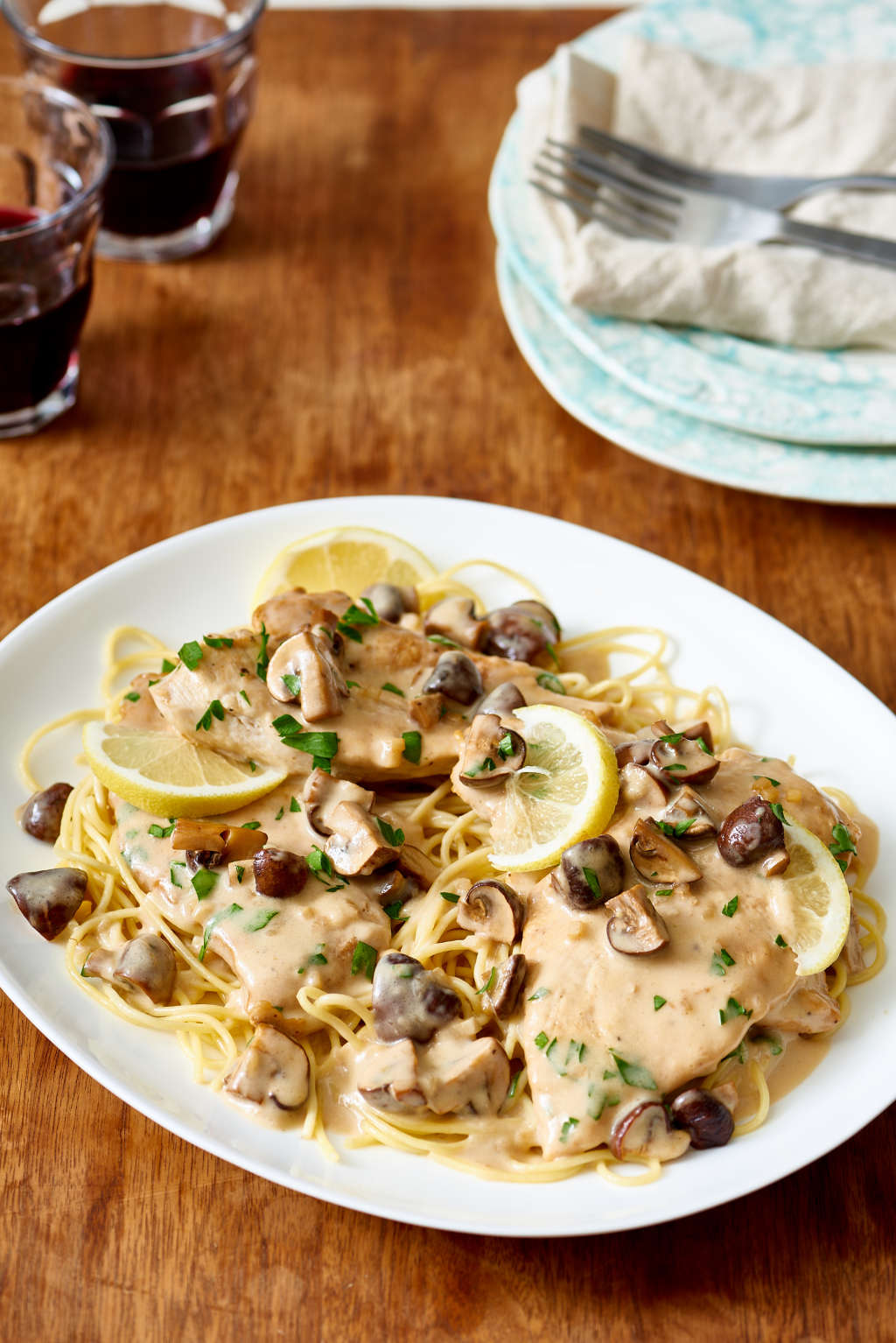 This Slow Cooker Chicken Marsala Is an Easy Weekend Dinner