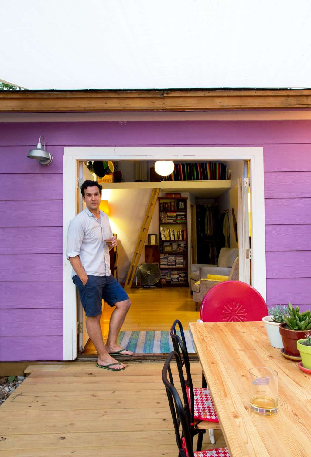 House Tour: A Tiny 250 Square Foot Austin Studio