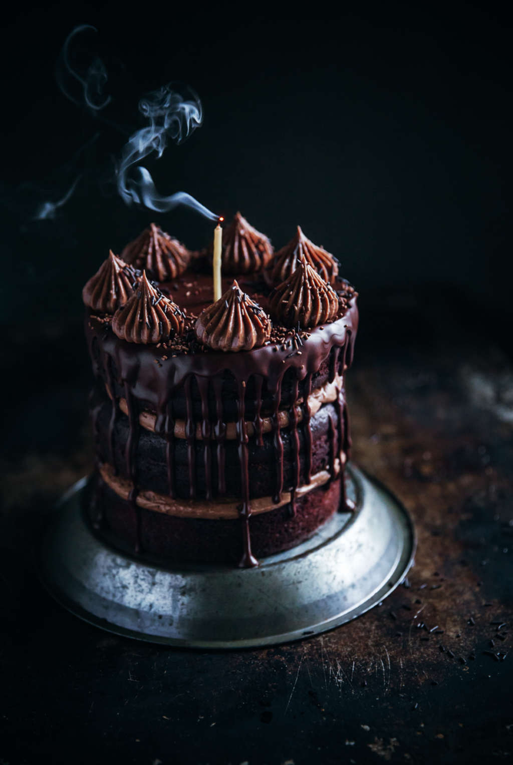 The Ultimate Chocolate Cake for True Chocoholics