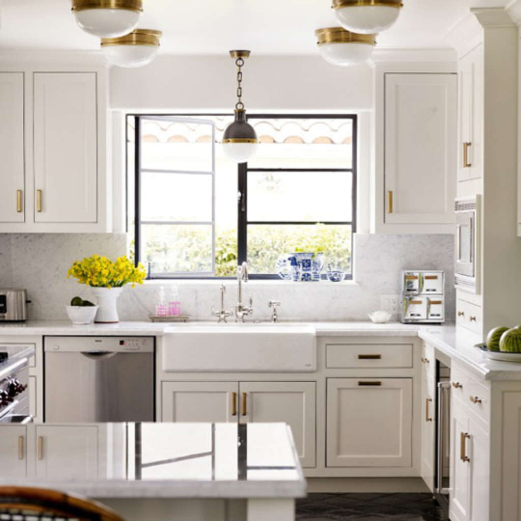 Knobs Pointe Apartments: Get The Look: Brass Kitchen Cabinet Pulls