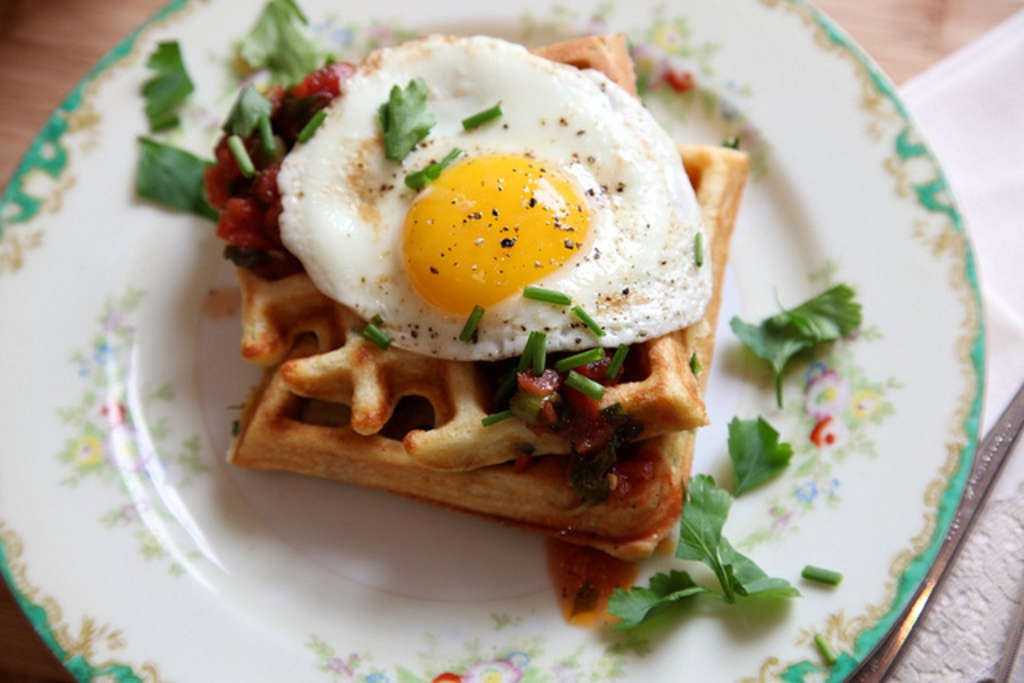 Forget Taco Bell: 7 Savory Ways to Eat Waffles at Home
