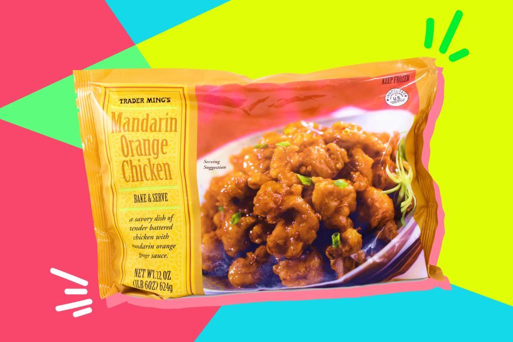 Trader Joes Mandarin Orange Chicken Review Kitchn