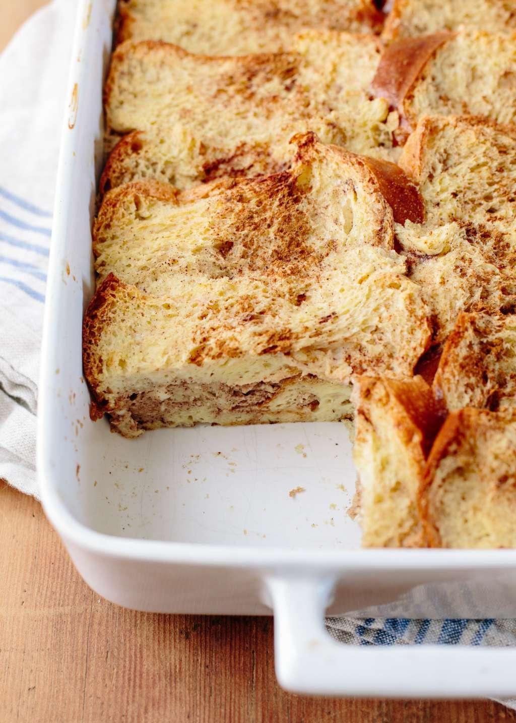 Recipe: Cinnamon Roll Breakfast Bake